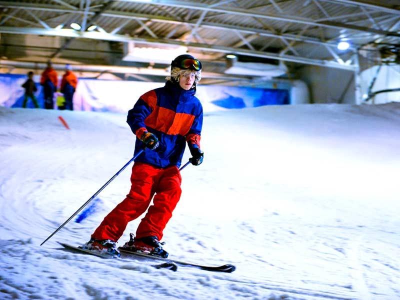 Indoor Snowboarding with Return Transfers