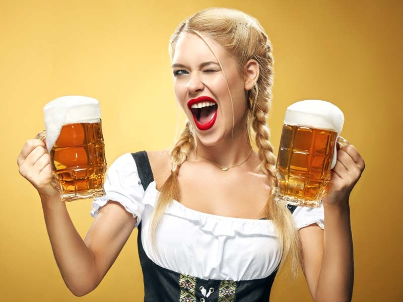 Bavarian Babe Bar Crawl
