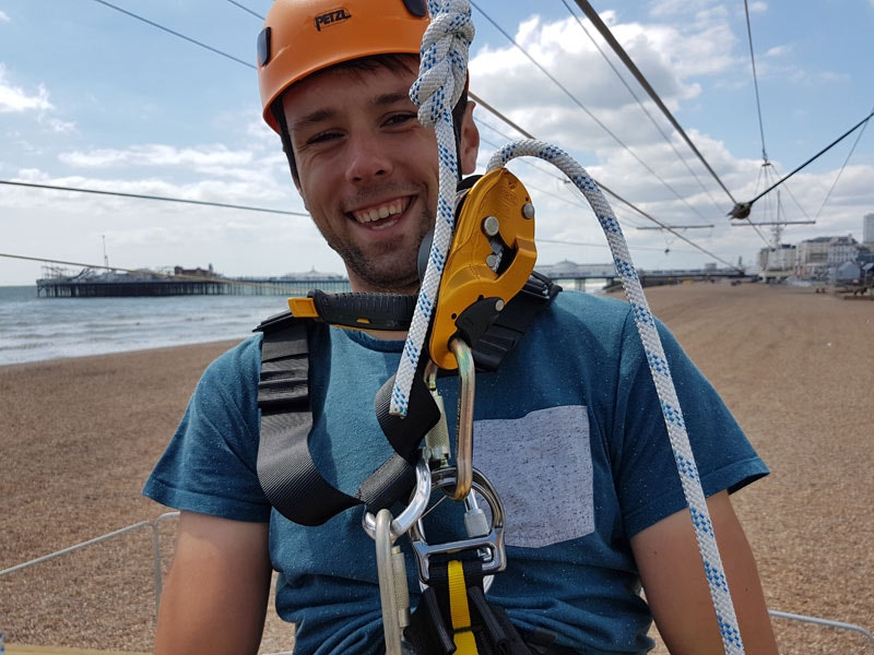 Single Ride on the Brighton Zip
