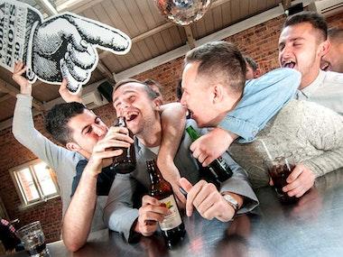 Bar crawl and Strip Club in Düsseldorf