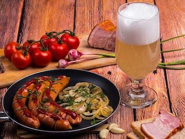 Bavarian Feast and Beer in Düsseldorf