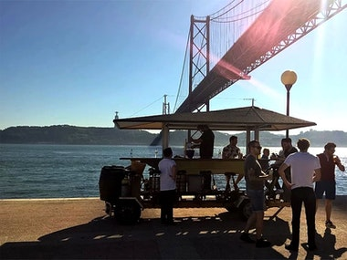 Beer Bike in Lisbon