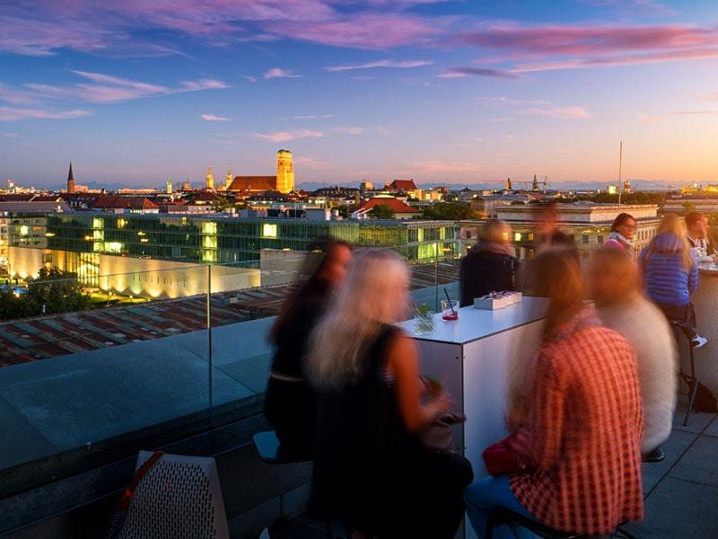 Rooftop Bar Crawl