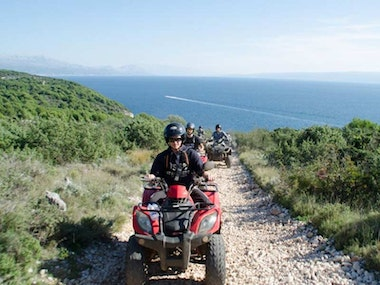 Quad Biking Tour in Hvar