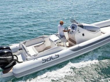 Luxury Speedboat Trip to Pakleni Island in Hvar