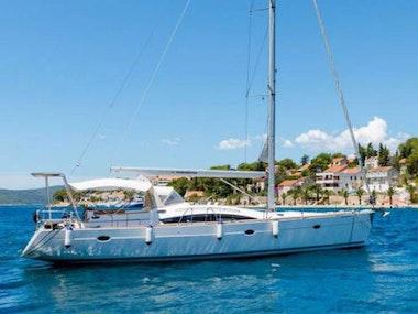 Sailing Trip to Pakleni Island in Hvar