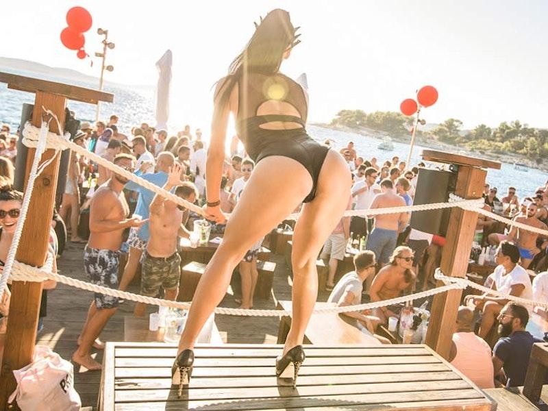 Beach Party at Hula Hula