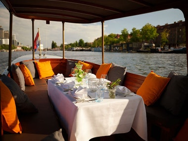 Private Canal Boat Tour in Amsterdam