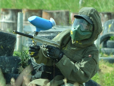Half Day Paintballing Afternoon Session inc 100 Free Paintballs in Blackpool
