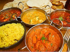 Two Course Indian Meal