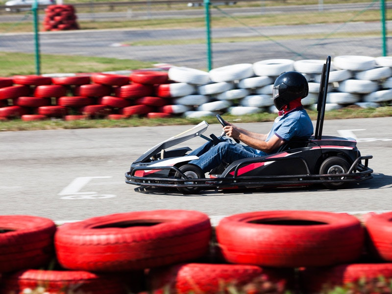 Outdoor Go-Karting Experience in Riga