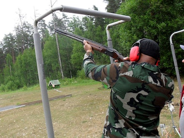 Clay Pigeon Shooting Experience in Riga