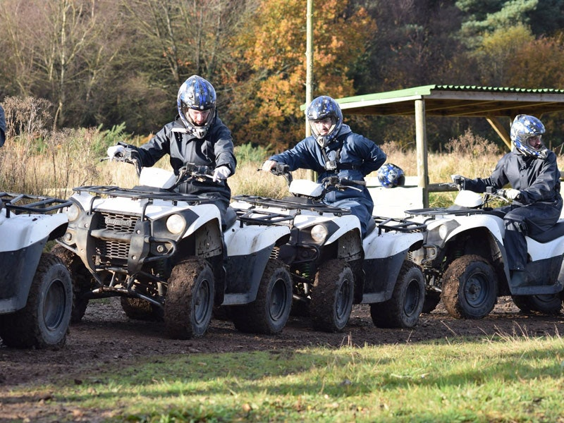 Clays and Quad Biking Experience