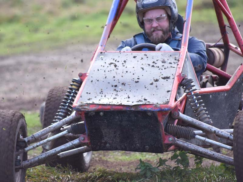 Blind Driving, Clays and Rebel Buggies Experience in Bristol