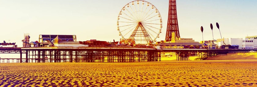Blackpool Pleasure Beach Stag Weekend Package