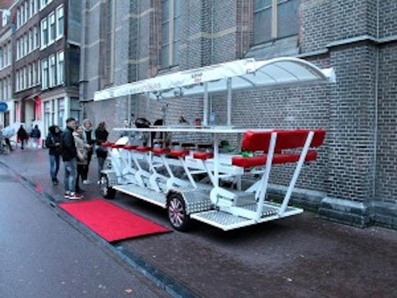 Amsterdam Limo Beer Bike Stag Weekend Package