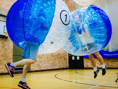Edinburgh Bubble Football Stag Weekend Package