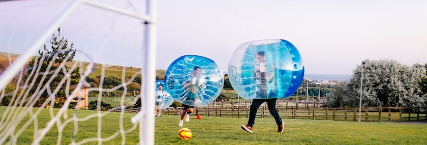 Bournemouth Bubble Football Stag Weekend Package