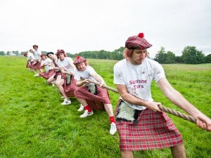 Edinburgh Highland Games Package
