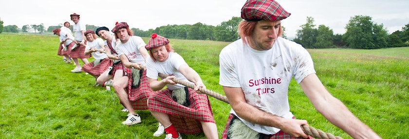 Edinburgh Highland Games Package