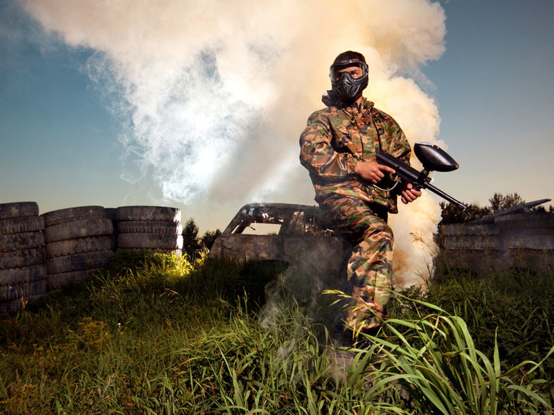 Newquay Paintball & Lap Dancing Package