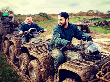 Riga Quad Biking Stag Weekend Package