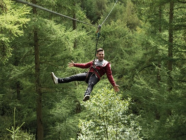 Bournemouth High Ropes Stag Weekend Package
