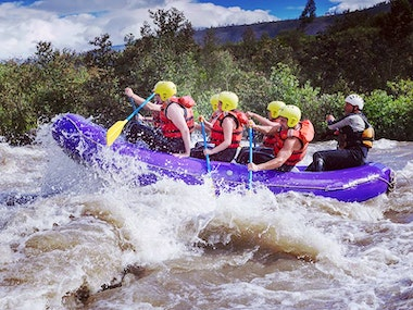 Edinburgh White Water Rafting Stag Weekend Package