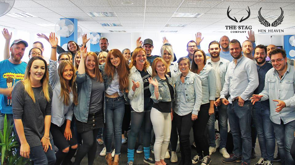 The Stag Company and Hen Heaven team supporting Jeans for Genes 2017