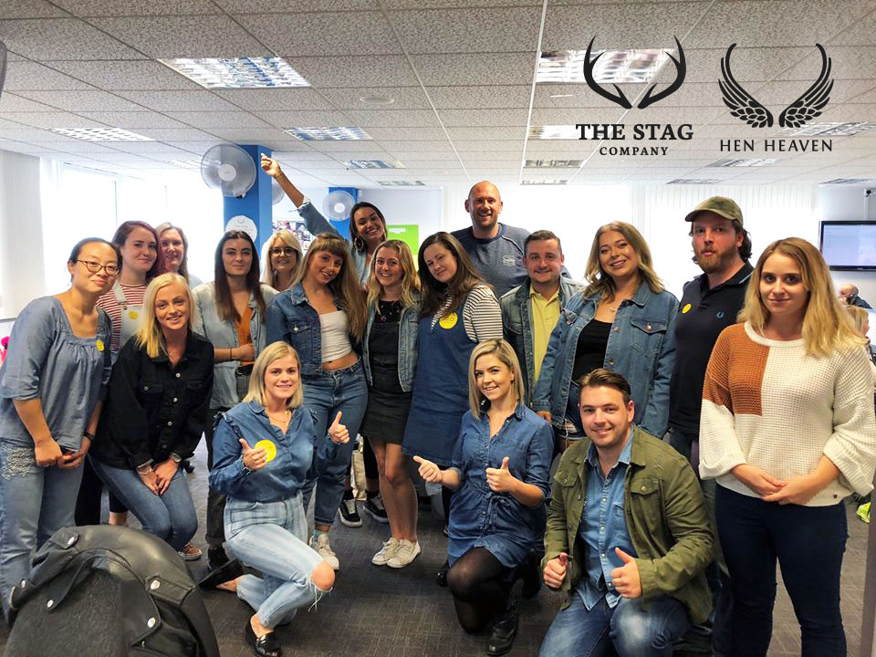 The Stag Company and Hen Heaven team supporting Jeans for Genes 2018
