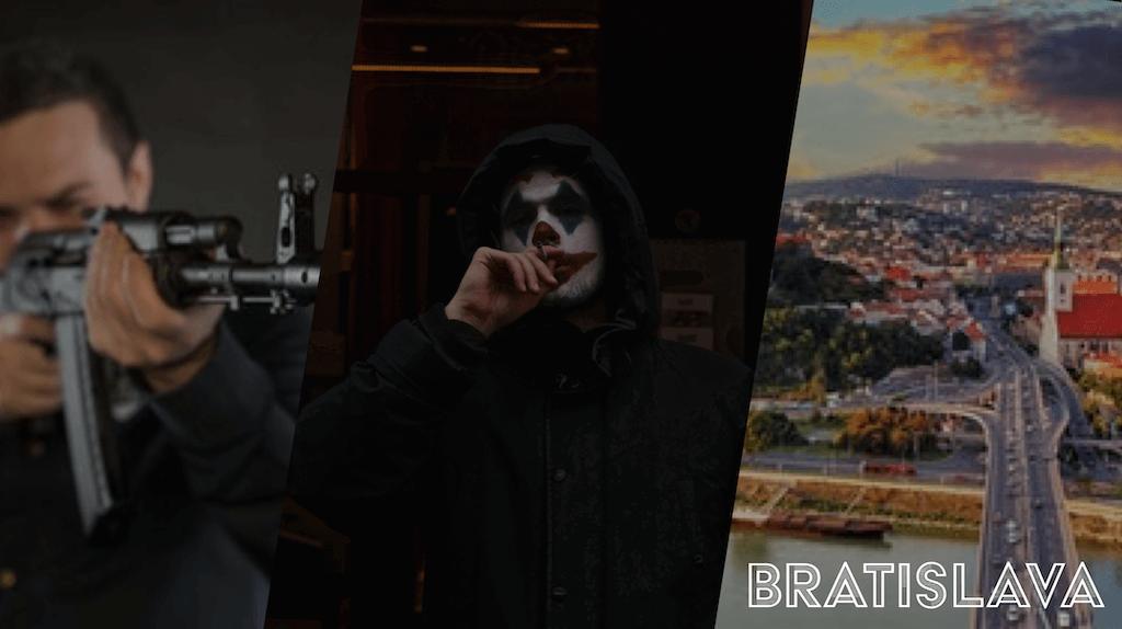 Joker inspired stag do weekend in Bratislava