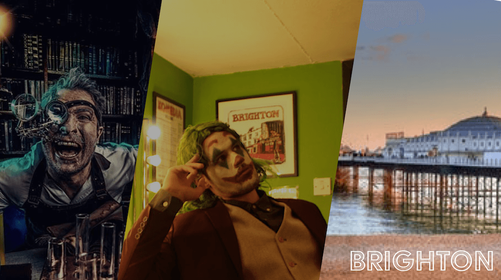 Joker themed stag weekend in Brighton