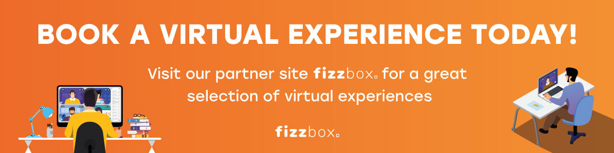 Visit fizzbox to book a fantastic virtual experience