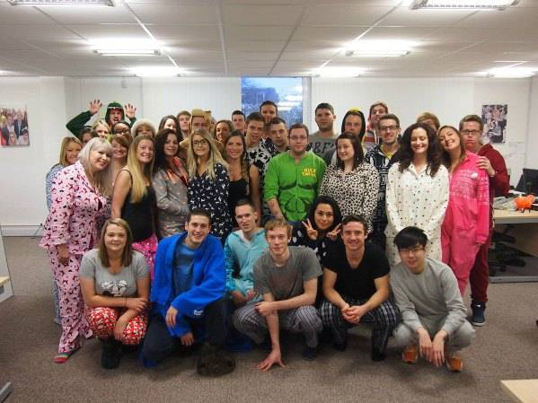 The Stag Company gets cosy for Children in Need