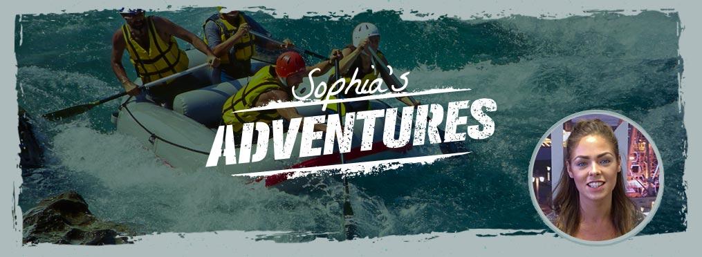 Sophia's Adventure - Taking A Splash In Prague