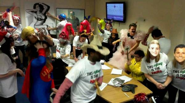 The Stag Company do the Harlem Shake!