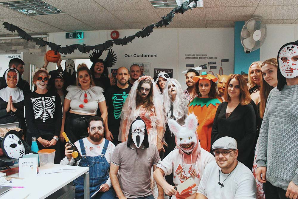 The Stag Company and Hen Heaven celebrate Halloween 2019