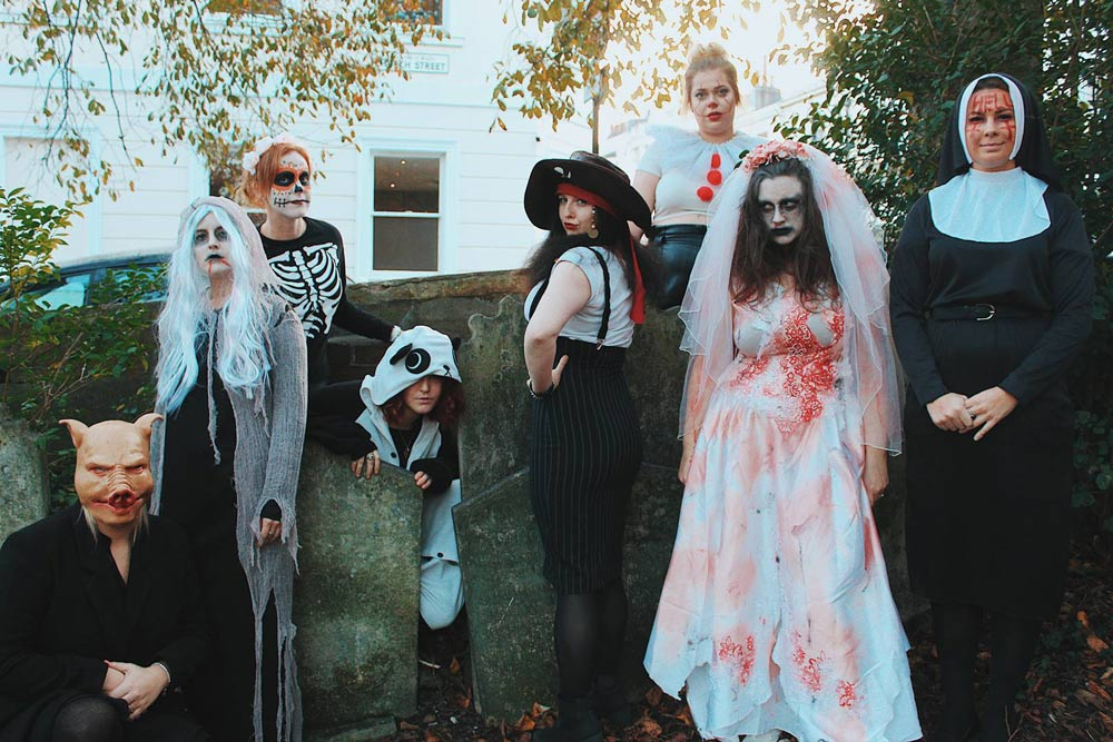 The Stag Company and Hen Heaven celebrate Halloween