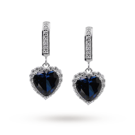 carat drop earrings