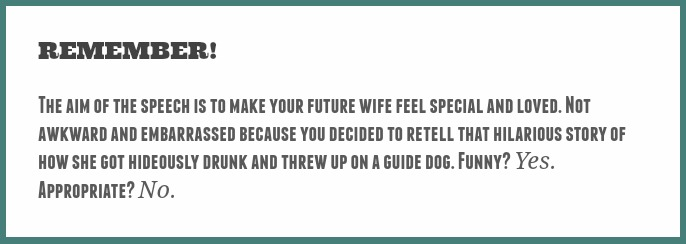 groom speech tips