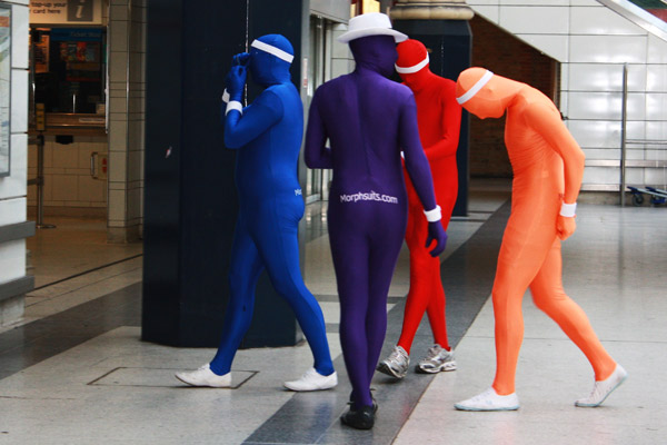 Morph Suit Stags