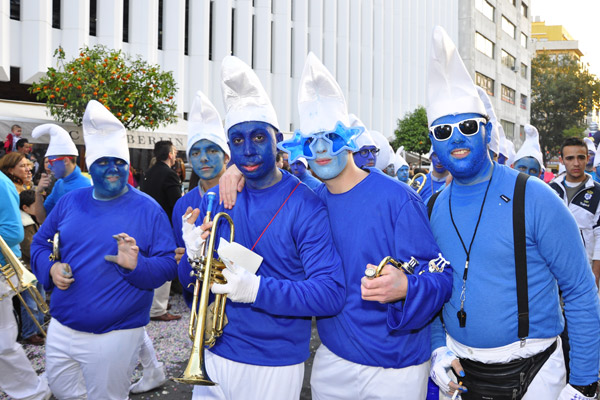 Smurf Stag Fancy Dress