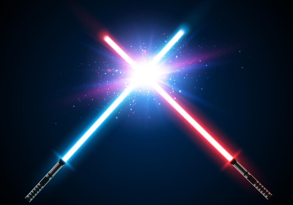 Jedi Training lightsabre