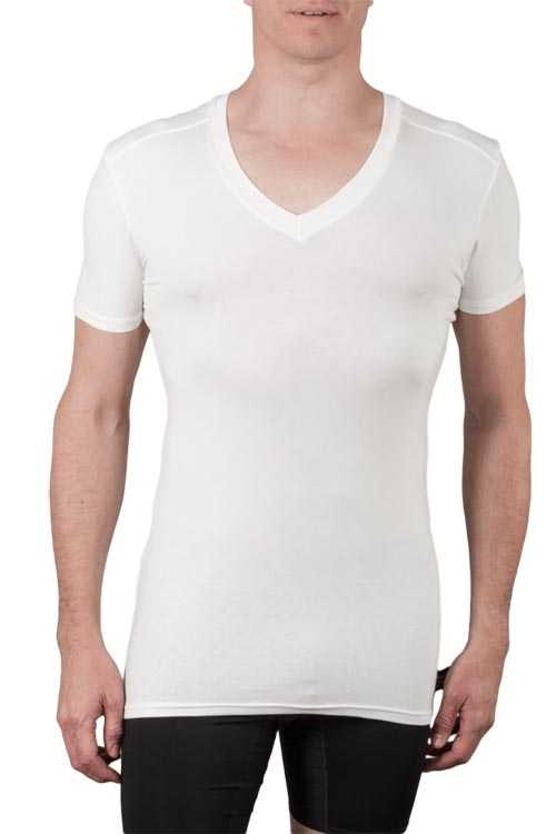 White Undershirt Robert Owen