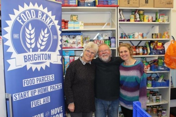 Brighton Food Bank on World Food Day 2019